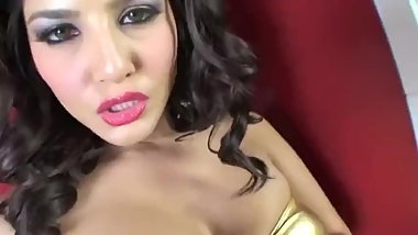 Sunny Leone Takes Pleasure with Sex Toy