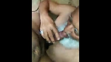 Hot Old and Young Indian Men Kiss Suck BJ
