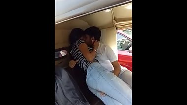 Indian hot sex in auto