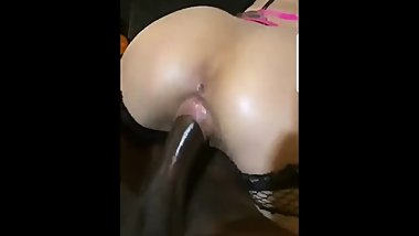 Black dick on tight pussy