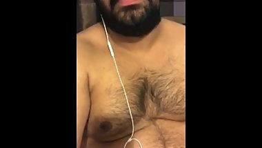 Indian chubby man jerk off