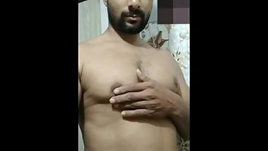 Indian big muscle very  horny
