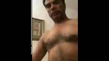 Karshan Butani Horny Old indian Jerking Scandal on cam